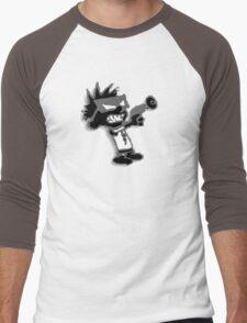 Spaceman Spiff - Black and Grey Men's Baseball ¾ T-Shirt