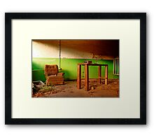 """""""The Comforts of Home"""" Framed Print"""