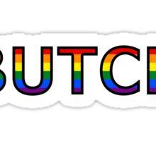 Butch Pride Sticker