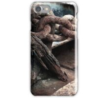 Crusty rusty faded iPhone Case/Skin