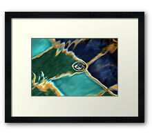 Bubble in the Fountain Framed Print