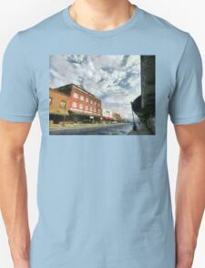 Parting Clouds Over Franklin, NC Unisex T-Shirt