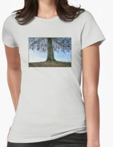 Under The Tree Womens Fitted T-Shirt