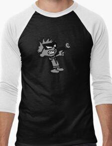 Spaceman Spiff - Greyscale Men's Baseball ¾ T-Shirt