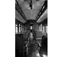 Train Seats Photographic Print