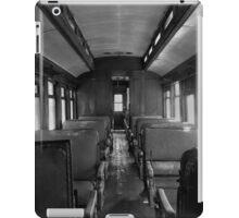 Train Seats iPad Case/Skin