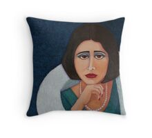 Florbela Espanca Pillows  Throw Pillow