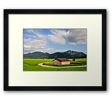 Countryside. Germany. 08. Framed Print