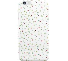 Funny and Cute Colorful Watercolor Dots pattern iPhone Case/Skin