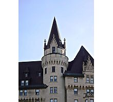 The Chateau Laurier Hotel, Ottawa, ON Canada Photographic Print
