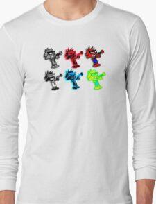 Spiffy Warhol Long Sleeve T-Shirt