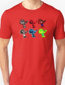Spiffy Warhol Unisex T-Shirt