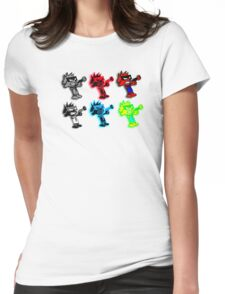 Spiffy Warhol Womens Fitted T-Shirt