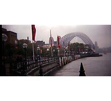 Sydney fog Photographic Print