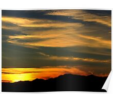 Sunsets Over Surprise Poster