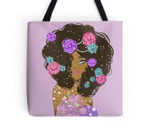 Hair of Flowers Tote Bag