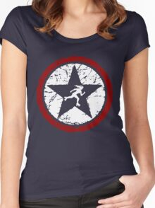 STAR JAMMER Women's Fitted Scoop T-Shirt