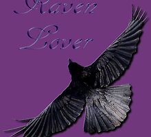 Raven Lover Corvid Art Design by Skye Ryan-Evans