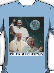 Three Pope Moon T-Shirt