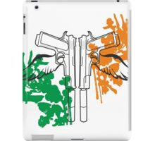 Sainty guns iPad Case/Skin