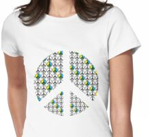 Peace T Shirt Womens Fitted T-Shirt