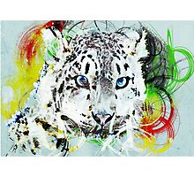 Leopard Ink Photographic Print