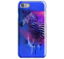 Zebra Ink iPhone Case/Skin