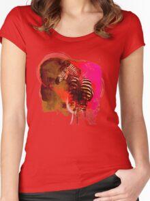 Zebra Ink Women's Fitted Scoop T-Shirt
