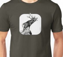 Red Stag Roaring in the Rut Unisex T-Shirt