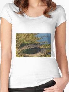 A Pair of Amigators Women's Fitted Scoop T-Shirt