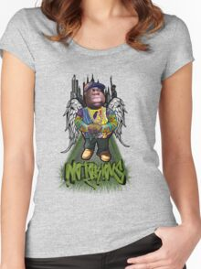 """Biggie Tribute"" Women's Fitted Scoop T-Shirt"