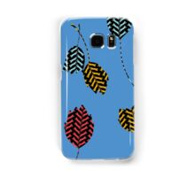Leaping Cats (Blue) Samsung Galaxy Case/Skin