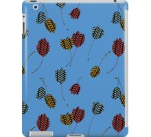 Leaping Cats (Blue) iPad Case/Skin