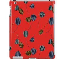 Leaping Cats (Red) iPad Case/Skin