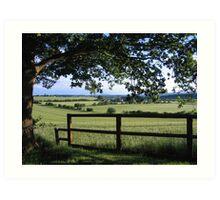 Framed Countryside Art Print
