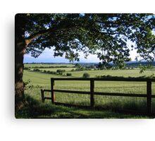 Framed Countryside Canvas Print