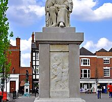 Dr Samuel Johnson Statue, Lichfield by Rod Johnson