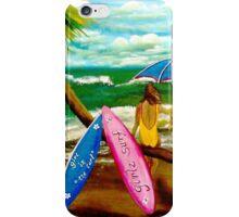 Girlz Surf iPhone Case/Skin