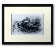 A4 Steam Train - Grosmont Framed Print