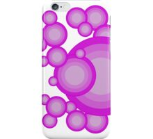 The Violet 70's year styling iPhone Case/Skin