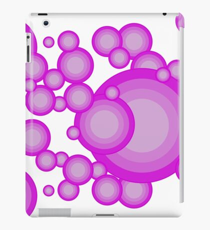The Violet 70's year styling iPad Case/Skin