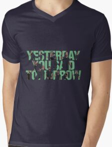 Yesterday you said tomorrow - Shia Labeouf Mens V-Neck T-Shirt