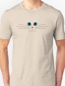 Putty-cat Face #2 Unisex T-Shirt