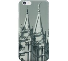 Mormon Temple in Salt Lake City, Utah iPhone Case/Skin