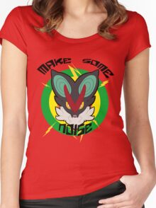 Make Some Noise Noivern Women's Fitted Scoop T-Shirt