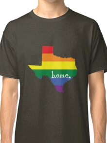 Texas gay pride vector state sign Classic T-Shirt