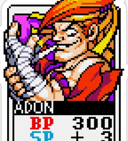 Adon - Street Fighter Sticker