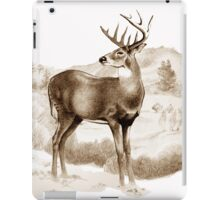White-tailed Stag Sniffing the Air iPad Case/Skin