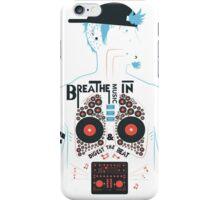Breathe Music In. iPhone Case/Skin