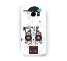 Breathe Music In. Samsung Galaxy Case/Skin